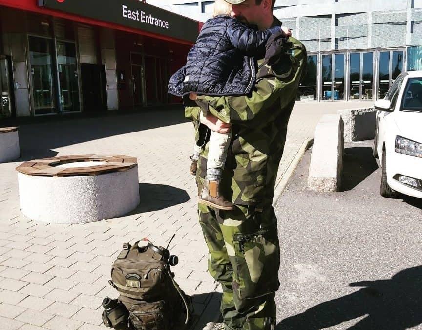 Marinkraft jobbar för att trygga Sverige under krisen